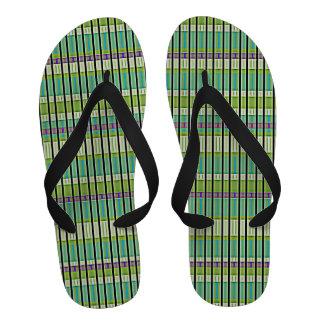 Nubian Soothsayer Flip Flops