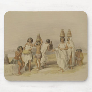 """Nubian Women at Kortie on the Nile, from """"Egypt an Mouse Pad"""