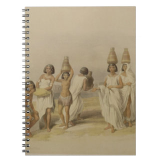 Nubian Women at Kortie on the Nile from Egypt an Notebook