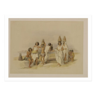 "Nubian Women at Kortie on the Nile, from ""Egypt an Postcard"