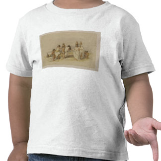 """Nubian Women at Kortie on the Nile, from """"Egypt an T Shirt"""