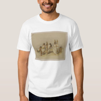 "Nubian Women at Kortie on the Nile, from ""Egypt an Tshirts"