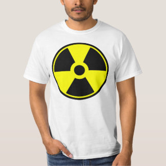 Nuclear Radiation Symbol Radioactive Symbol T-Shirt