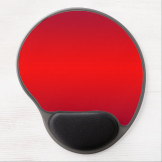 Nuclear Red Gradient - Poppy Reds Template Blank Gel Mouse Pad