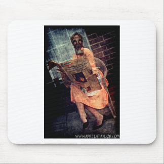 Nuclear Sunday by April A Taylor Mouse Pad