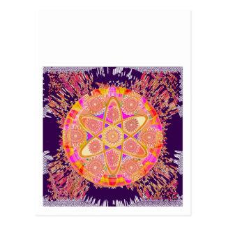 NUCLEUS - Beautiful CHAKRAs Postcard