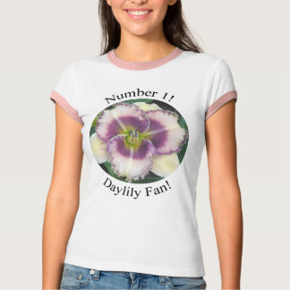 Number 1 Daylily Fan with Lavender T-Shirt
