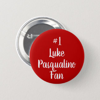 Number 1 Luke Pasqualino Fan 6 Cm Round Badge