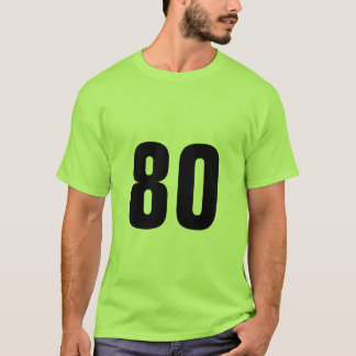 Number 80 T-Shirt
