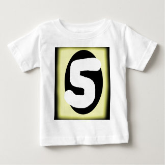 Number Five Baby T-Shirt