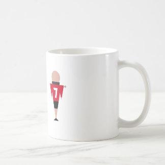 Number seven mug. coffee mug