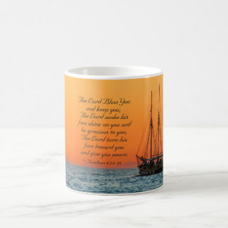 Numbers 6 24-26 The Lord bless you and keep you Coffee Mug