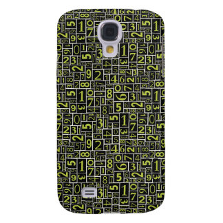 Numbers Galaxy S4 Case
