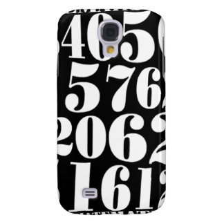 Numbers' gift galaxy s4 case