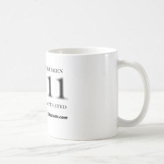 Numerically Activate them!! Basic White Mug