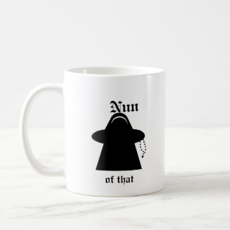 Nun of that Catholic humor Meeple mug