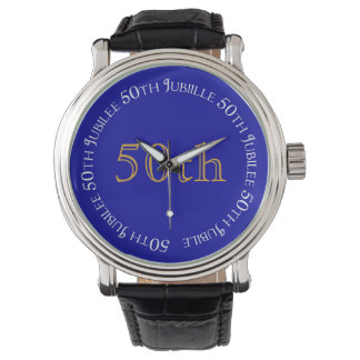 Nuns Golden Jubilee 50th Anniversary Watch Blue
