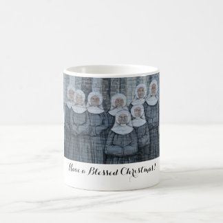 Nuns on your mug! coffee mug