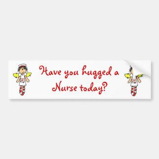 Nurse Angel Bumper Sticker