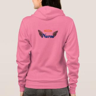 Nurse Angel Wings Hoodie