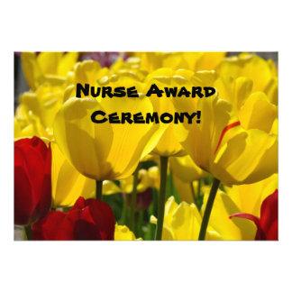 Nurse Award Ceremony Invitations cards Nursing
