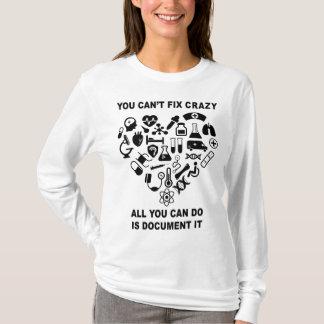 Nurse Cute Heart Nurse Funny T-Shirt