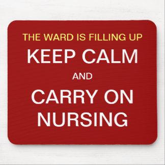 Nurse Funny Mousepad - Ward / Keep Calm Nursing