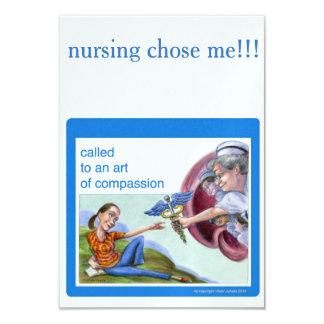 Nurse theme invitation
