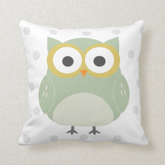 nursery owl pillow
