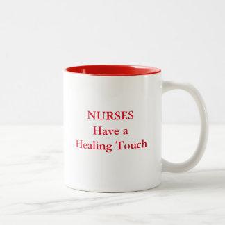NURSES Have a  Healing Touch Mug