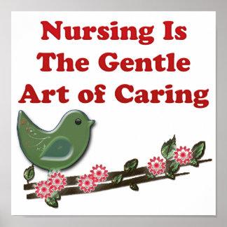 Nursing Is Caring Poster