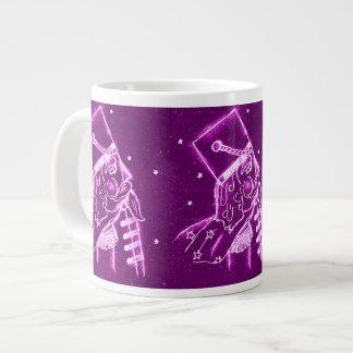 NUTCRACKER TOY SOLDIER in Magenta Large Coffee Mug