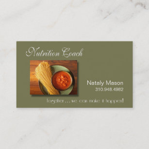 Weight loss business cards zazzle nz nutrition coach healthy eating weight loss business card colourmoves