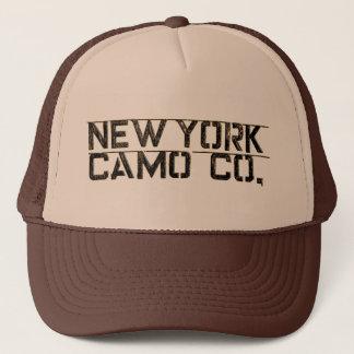 NY Camo Co Stamp Logo Trucker Hat