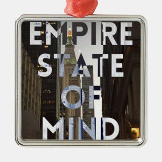 ny empire state christmas ornament