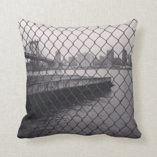 NYC from Brooklyn Pillow