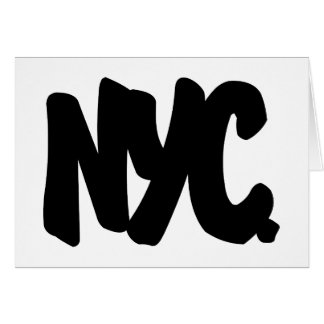 NYC Letters Card