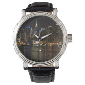 NYC Night Skyline Watch