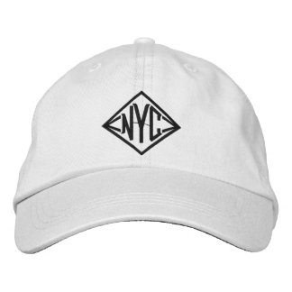 NYC Personalized Adjustable Hat Embroidered Hats