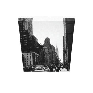 NYC street scape Canvas Prints