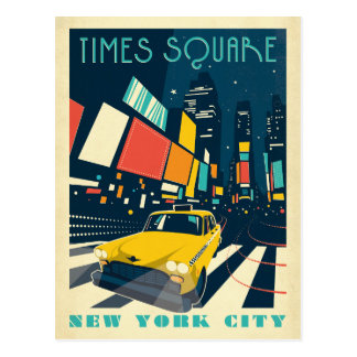 NYC - Times Square Postcard