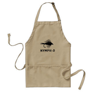 Nymph-O funny fly fishing lure Standard Apron