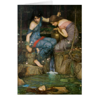 Nymphs Finding the Head of Orpheus Card
