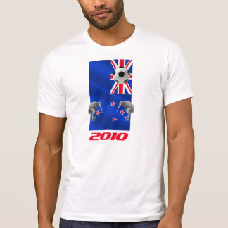 NZ 2010 All Whites Soccer gifts Tee Shirt