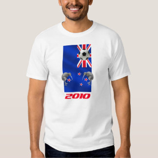 NZ 2010 All Whites Soccer gifts Tee Shirts