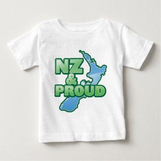 NZ and PROUD KIWI New Zealand Infant T-Shirt