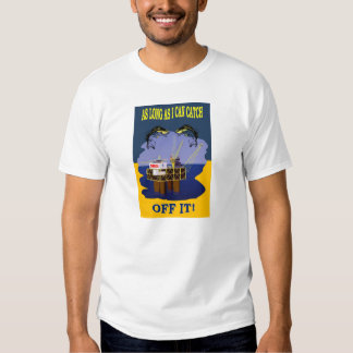 NZ GAS AND OIL EXPLORATION TEE SHIRTS
