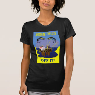 NZ GAS AND OIL EXPLORATION TEE SHIRT