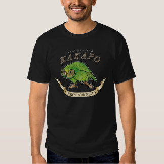 NZ Kakapo 'Parrot of the Night' Shirt