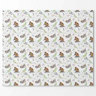 NZ Kiwi Wrapping Paper